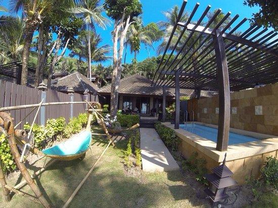 Andaman White Beach Resort: strandbungalow mit eigenem pool