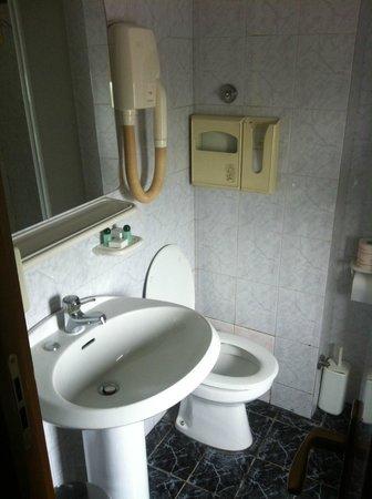 New Gemini Hotel: Bathroom from 80's