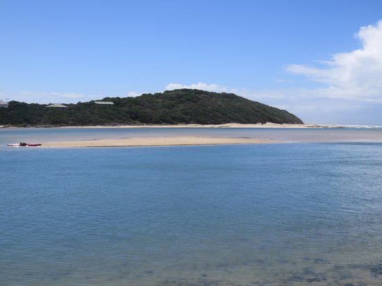 Kariega Beach: Beach towards estuary