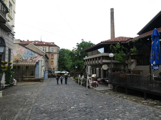 Skadarlija : a part of the street