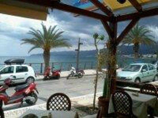 Pelagos Taverna Restaurant : View from Pelagos
