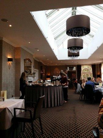 Balbirnie House: Great breakfast choices...