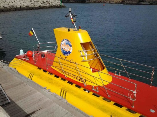 Submarine Safaris : The submarine in all its glory