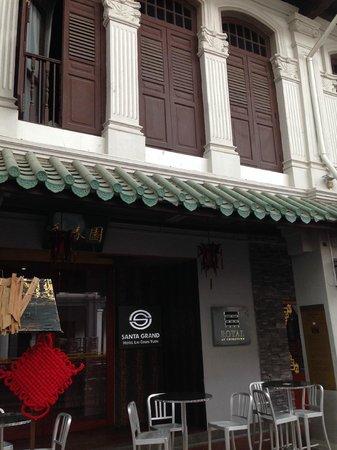 Santa Grand Hotel Lai Chun Yuen: Entrance