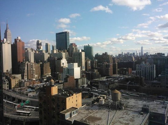 YOTEL New York at Times Square West: View from our room on the 22.floor