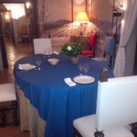 Castello Costaguti : Sala per la cena