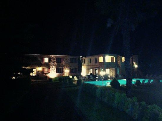 Hotel des roches de nuit
