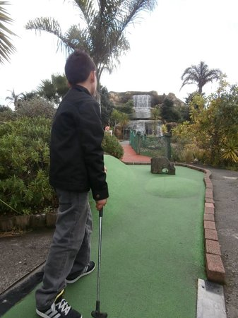 Treasure Island Adventure Golf: mini golf, airport oaks.. near Rocket Ropes & Butterfly creek :)