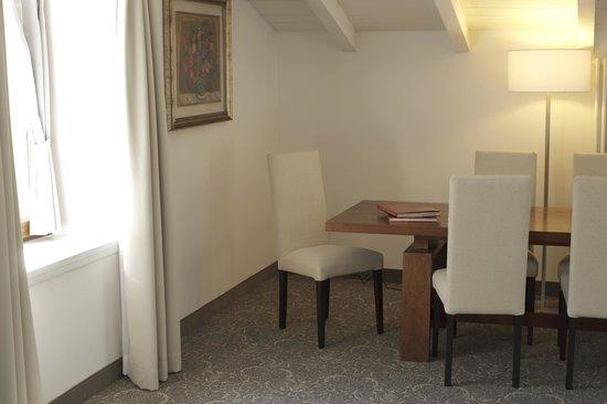 Hotel Accademia : Zona living Junior Suite