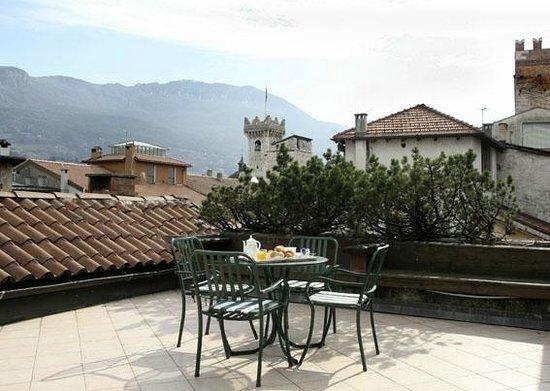 Hotel Accademia : Terrazzo