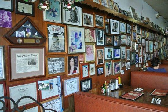 frames - Picture of Nick\'s Coffee Shop & Deli, Los Angeles - TripAdvisor