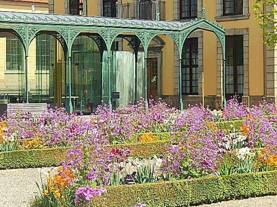 Herrenhäuser Gärten: Combinação de flores...