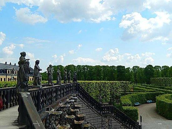 Herrenhäuser Gärten: Do alto...