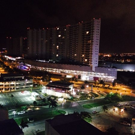 Krystal Urban Cancun: View from the balcony