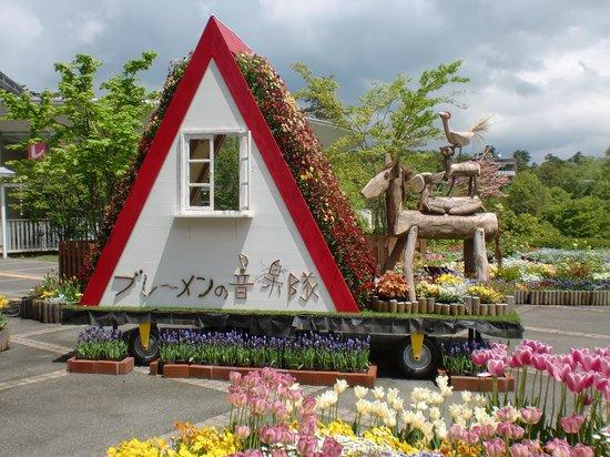 Tottori Hanakairo Flower Park: かわいいです