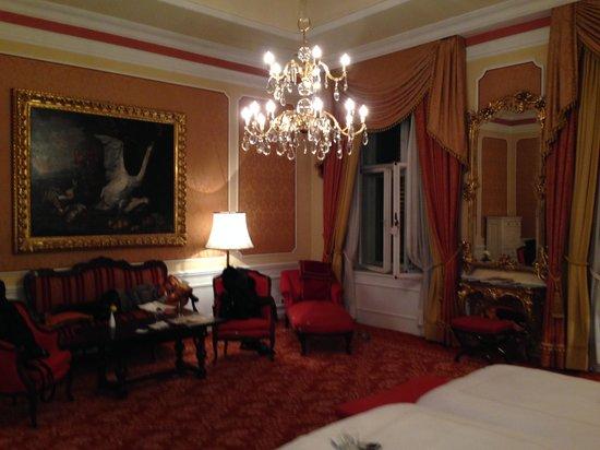 Hotel Imperial Vienna: stanza
