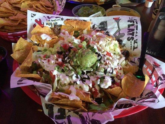 Tijuana Flats: The best nachos I ever had!!!