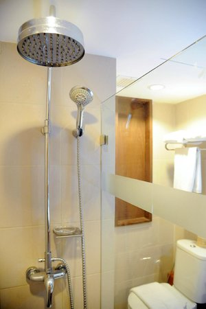 Mövenpick Suriwongse Hotel Chiang Mai : The shower/toilet was a little small but adequate