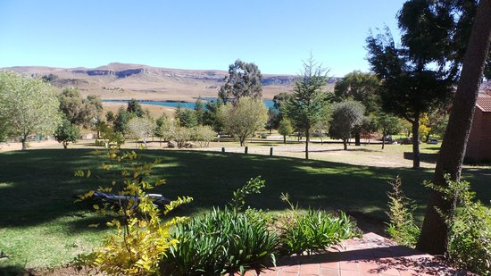 Qwantani Berg and Bush Resort: view from the room we stayed in.