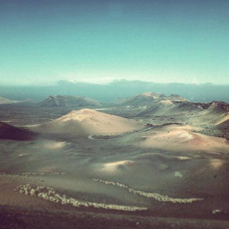 Parque Nacional de Timanfaya: Volcano view