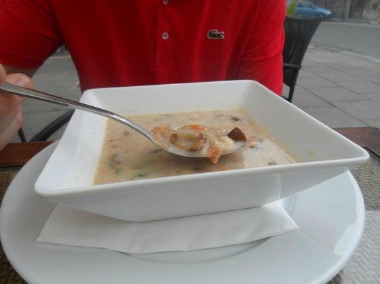 Atelier Aparthotel: Polish soup.