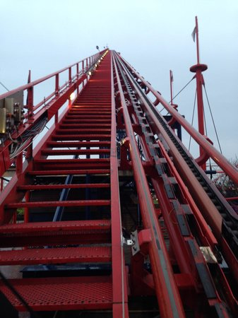 The Big One: To the top of the Lift Hill