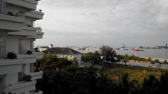 Dorsett Grand Labuan: view from hotel balcony