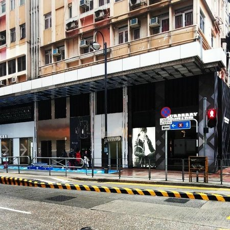 Wang Fat Hostel: The check-in building