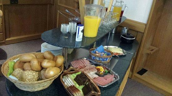 Hotel Restaurant Hilling: Frühstücksbuffet
