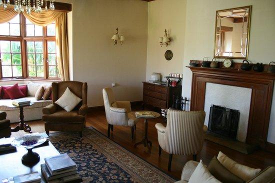 Ceylon Tea Trails - Relais & Chateaux : Tientsin lounge area