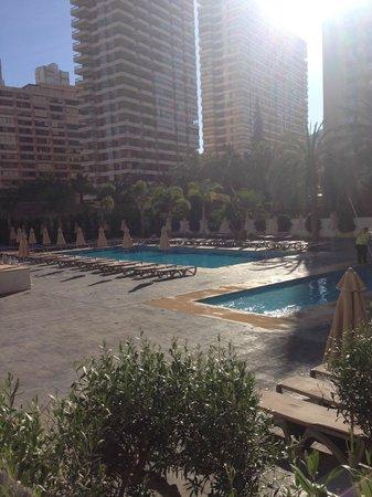 Flash Hotel Benidorm: 9am in morning