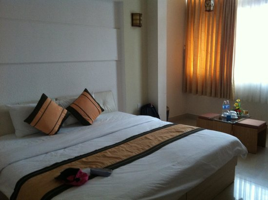Cat Huy Hotel: Spacious room with living area