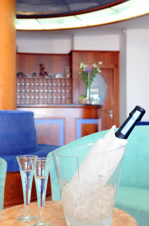 Hotel Delfino Caorle: Particolare hall