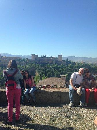 Albayzin: View from St Nicholas