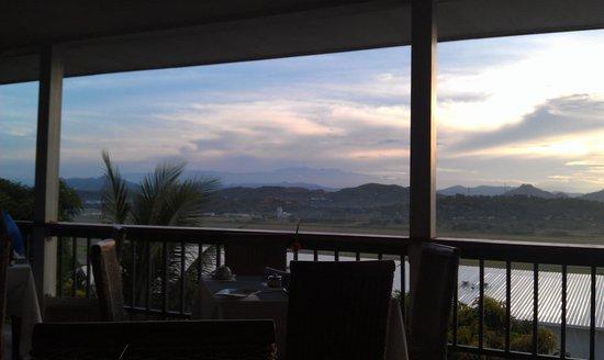 Airways Hotel : view from restaurant