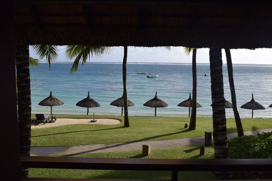Constance Belle Mare Plage: View from our room