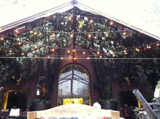 Hudson Hotel New York: veranda