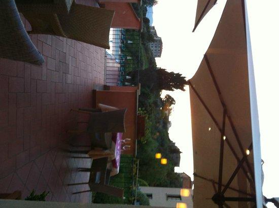 Park Hotel le Fonti: terrazza