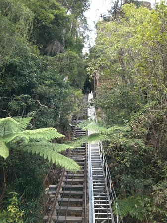 Scenic World Blue Mountains: Choose the steepest setting for your seats!