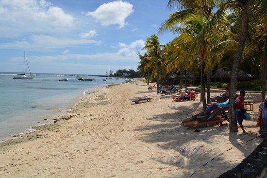 Le Meridien Ile Maurice : Beach View