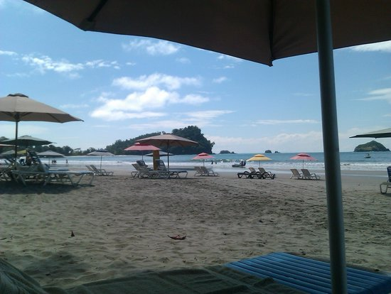 Hotel Verde Mar : Strand