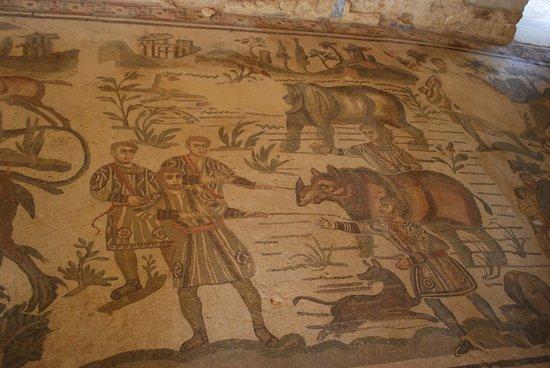 Villa Romana del Casale: Dettaglio 1