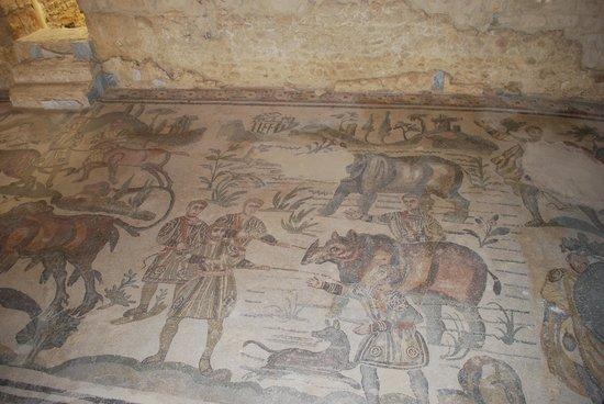 Villa Romana del Casale: Dettaglio 2