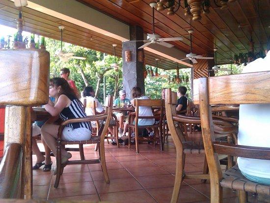 Hotel Verde Mar: Reataurant auf dem Berg