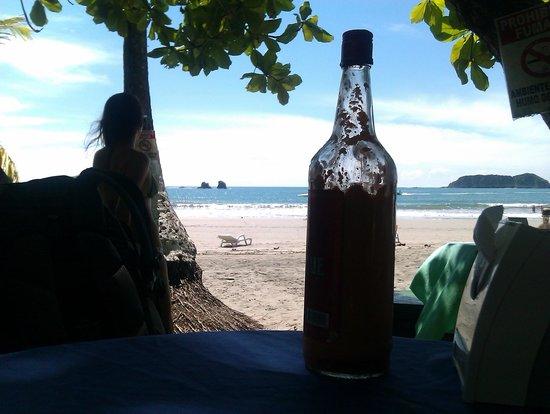 Hotel Verde Mar: Restaurant am Strand direkt beim Hotel
