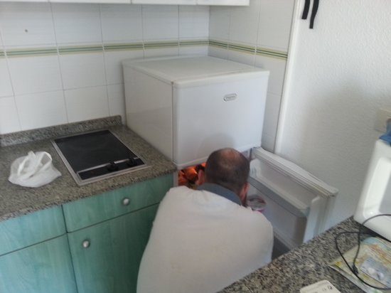 Porlamar Apartments: Apartment kitchen area