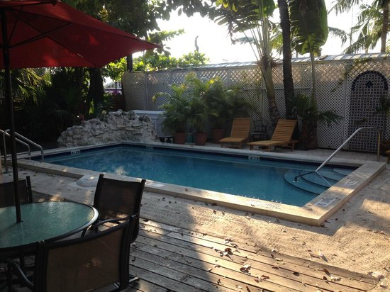 Key West Harbor Inn: La piscine