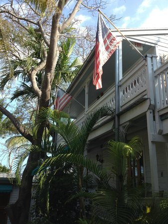 Key West Harbor Inn: La chambre