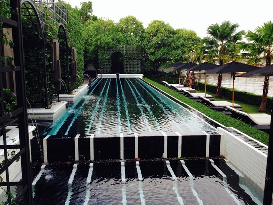 The Siam: Pool area