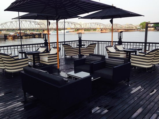 The Siam: Deck by the pool